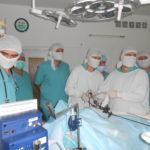 Робота в операційній (лапароскопічна пластика пієлоуретерального сегмента)
