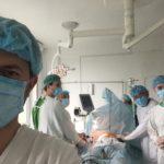 Торакопластика за Nuss (оперують проф. Данилов О.А., д-р Заремба В.Р.)